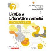 Exerciţii practice de limba şi literatura română. Caiet de lucru. Clasa a VII-a - Mina-Maria Rusu