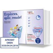 Explorez, aplic, rezolv! - Culegere de probleme, teste si resurse pentru portofoliu, clasa a V-a, partea I