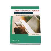 Limba si literatura romana pentru clasa a VII-a. Simulare - Pantazi, Marinela