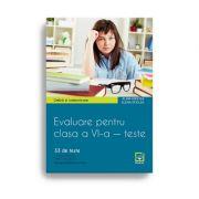 Teste de evaluare pentru clasa a VI-a. Limbă și comunicare. Limba engleză (33 de teste)