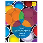 Clubul matematicienilor. Matematica pentru clasa a V-a, semestrul I (2019) - Marius Perianu