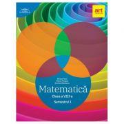 Clubul matematicienilor. Matematica pentru clasa a VIII-a, semestrul I (2019) - Marius Perianu