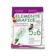 Elemente grafice cu Rita-Gargarita si Greierasul Albastru, 5-6 ani - Alice Nichita
