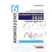 Evaluarea Nationala 2020. Matematica si stiinte, clasa a 6-a - Florin Antohe, Bogdan Antohe
