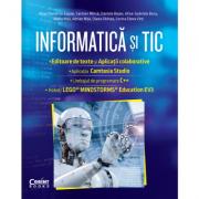 Informatică și TIC clasa a 7-a. Editoare de text și aplicații colaborative, Camtasia Studio, C++, EV3