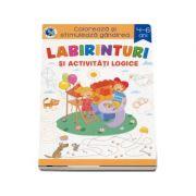 Labirinturi si activitati logice 4-6 ani