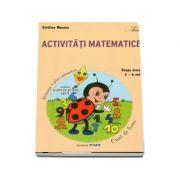 Activitati matematice. Caiet de lucru pentru 5-6 ani - Catalina Mocanu
