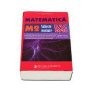 Bacalaureat Matematica 2020 M2, subiecte rezolvate - Ion Bucur Popescu