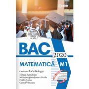 Bacalaureat 2020. Matematică - Radu Gologan