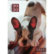 Calendar catei 2020 - o pagina pentru fiecare luna