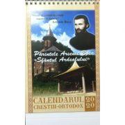 Calendar 2020 - Parintele Arsenie Boca (Calendar de birou)
