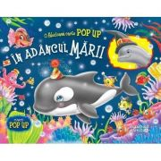 In adancul marii. Carte Pop up