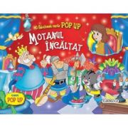 Motanul incaltat. Carte Pop up