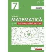 Teste de matematică pentru Simularea Evaluării Naţionale la clasa a VII-a - Anton Negrila