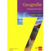 Geografie. Clasa a VII-a. Caietul elevului - Carmen Camelia Radulescu