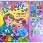 Do-re-mi - Cantece pentru copii, carte cu sunete