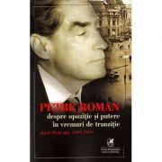 Despre opozitie si putere in vremuri de tranzitie - Petre Roman