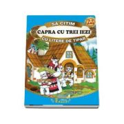 Sa citim Capra cu trei iezi cu litere de tipar 3-5 ani