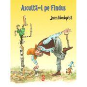 Asculta-l pe Findus - Sven Nordqvist