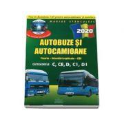 Intrebari de examen 2020 explicate pentru obtinerea permisului auto Autocamioane si Autobuze. Categoriile C, CE, D, C1, D1 - Marius Stanculescu