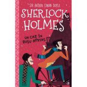 Sherlock Holmes. Un caz în roșu aprins - Stephanie Baudet