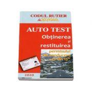 Obtinerea si restituirea permisului de conducere 13 din 15 Auto Test 2020