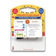 Calendarul meu anual. Invat limba engleza - de la 4 la 6 ani - Sandra Sarah Krief