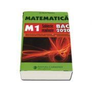 Matematica M1, subiecte rezolvate 2020 - Ion Bucur Popescu