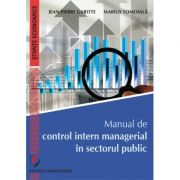 Manual de control intern managerial in sectorul public - Jean-Pierre Garitte