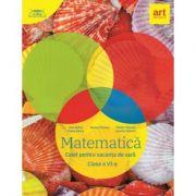 Matematica, caiet pentru vacanta de vara clasa a VI-a. Clubul matematicienilor (2020)
