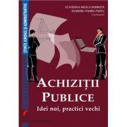 Achizitii publice. Idei noi, practici vechi - Ecaterina-Milica Dobrota