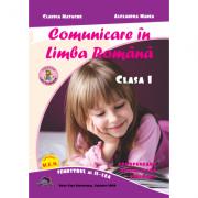 Comunicare in Limba Romana, Matematica si explorarea mediului. Clasa I semestrul I+II (2 carti) - Alexandra Manea