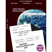 Bacalaureat biologie 2021 clasele XI-XII. Sinteze teste si rezolvari (Ghid pentru bacalaureat de nota 10) - Stelica Ene