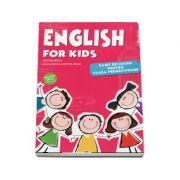 English for kids, caiet de lucru pentru clasa pregatitoare. Editia a VI-a - Cristina Mircea