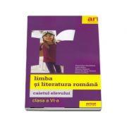 Limba si literatura romana, caietul elevului pentru clasa a VI-a - Florentina Samihaian