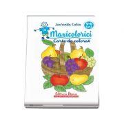 Maxicolorici. Carte De Colorat 5-6 ani - Laurentia Culea