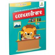 Carte de colorat si activitati de concentrare