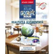 Cunoasterea Terrei prin realitatea augmentata (Atlas Geografic Scolar) - Octavian Mandrut