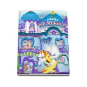 Casuta unicornilor - Mov