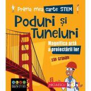 Prima mea carte STEM: PODURI ȘI TUNELURI. Magnifica artă a proiectării - Ian Graham