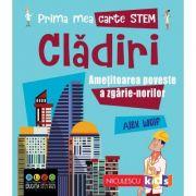 Prima mea carte STEM: CLĂDIRI. Amețitoarea poveste a zgârie-norilor - Alex Woolf