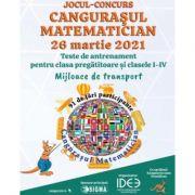 Jocul-Concurs Cangurasul matematician, clasa pregatitoare si clasele I-IV