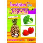 Invatam prin joc fructele si legumele +3 ani