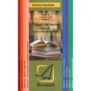 Limba si literatura romana, tipuri de texte pentru evaluarea nationala. Sinteze - Larisa Kozak