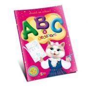 Marea carte de colorat. ABC si decupare - Inesa Tautu