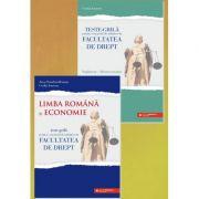 Teste-grilă pentru concursul de admitere la Facultatea de Drept. Limba română şi Economie + supliment Macroeconomie - Anca Davidoiu-Roman, Cecilia Ionescu
