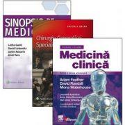 Medicina clinica, Chirurgie generala si specialitati chirurgicale, Medicina clinica rezidentiat, 3 volume