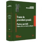 Tratat de procedura penala. Partea speciala - Ion Neagu