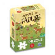 Animale din padure: Puzzle