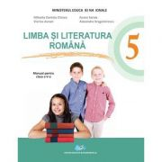 Limba si literatura romana Manual pentru clasa a V-a. Contine CD - Mihaela Daniela Cirstea